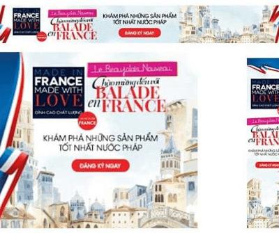1 Mois En France - Case Study